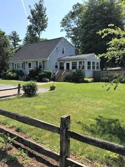 Carver Single Family Home Under Agreement: 4 Finney St