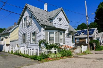 Gloucester Single Family Home Under Agreement: 8 Sylvan St