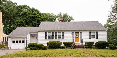 Reading MA Single Family Home Under Agreement: $539,900