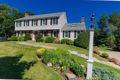 Hingham Single Family Home Contingent: 4 Saw Mill Pond Rd