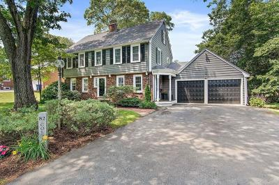 Braintree Single Family Home Under Agreement: 82 Colby Rd