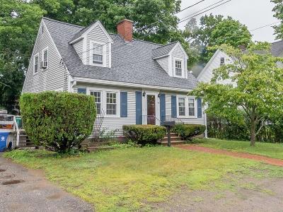 Wakefield Single Family Home Under Agreement: 69 Cedar Street