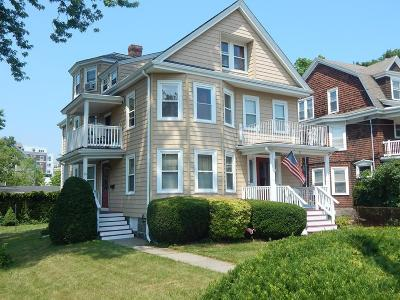 Quincy Multi Family Home Under Agreement: 87-89 Bigelow Street