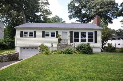 Arlington MA Single Family Home Under Agreement: $649,000