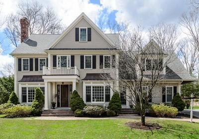 Wellesley Single Family Home Under Agreement: 33 Rutgers Rd