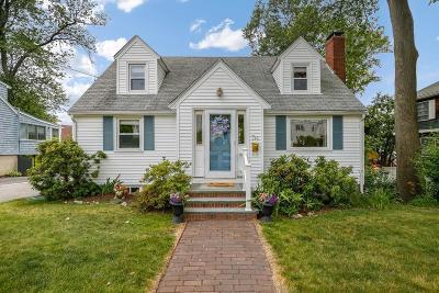 Waltham Single Family Home Back On Market: 136 Chaffee Ave