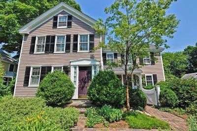 Holliston Single Family Home Under Agreement: 25 Irving Place