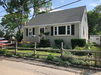 Quincy Single Family Home Contingent: 19 Prescott Ter