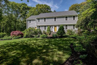 Sherborn Single Family Home Contingent: 3 Wildwood Drive