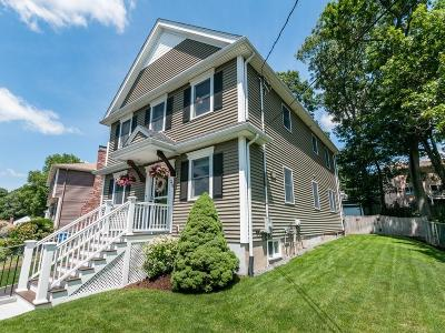 Waltham Single Family Home Under Agreement: 334 Florence Road