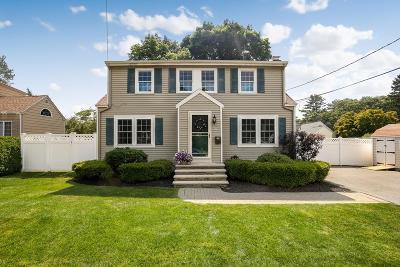 stoneham Single Family Home Under Agreement: 29 Bonad Road