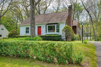 Framingham Single Family Home Under Agreement: 20 Davidson Rd