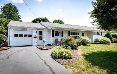 Framingham Single Family Home Under Agreement: 32 Eden Rd