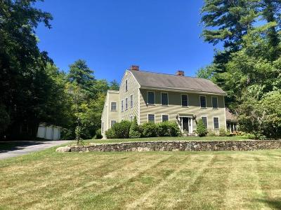 Sherborn Single Family Home For Sale: 97 Bogastow Brook Road