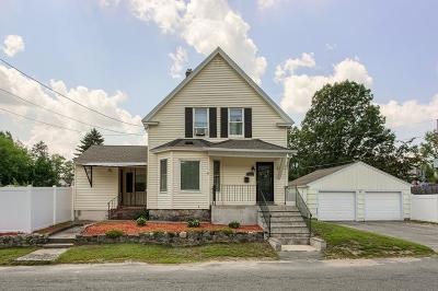 Methuen Single Family Home Under Agreement: 20 Hobson St