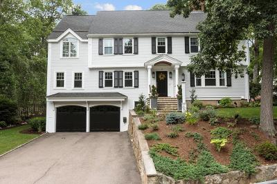 Wellesley Single Family Home Under Agreement: 69 Fox Hill Road
