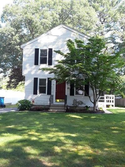 Billerica Single Family Home Under Agreement: 15 Primrose Road