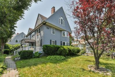 Boston Single Family Home For Sale: 29 Percival Street