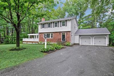 Holliston Single Family Home Under Agreement: 93 Karen Circle