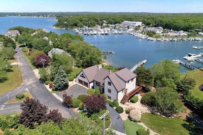Falmouth Single Family Home Contingent: 176 Waterside Dr