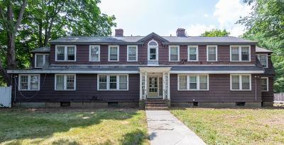 Framingham Multi Family Home Under Agreement: 154 Maynard Rd