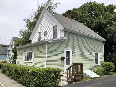 Rockport Single Family Home For Sale: 5 Forest St
