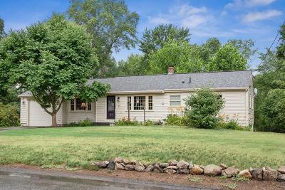 Holliston Single Family Home Under Agreement: 117 Winthrop St