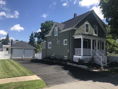 Peabody Single Family Home Under Agreement: 4 Rockdale Ave