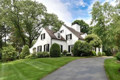 Wellesley Single Family Home Under Agreement: 45 Lowell Rd