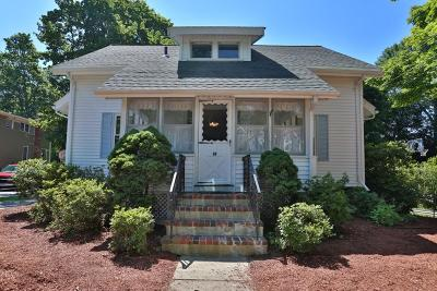 Reading MA Single Family Home For Sale: $599,900