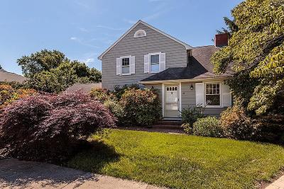 Belmont Single Family Home Contingent: 81 Oliver Road