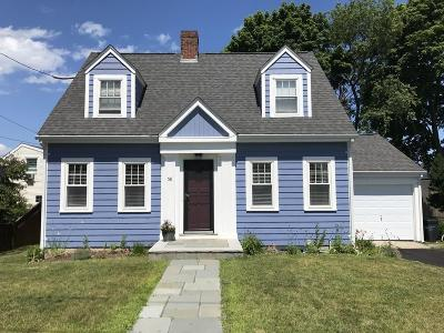Quincy Single Family Home Contingent: 58 Belmont St