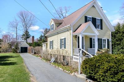 Wellesley Single Family Home For Sale: 29 Cottage Street