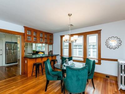 Brookline MA Condo/Townhouse For Sale: $820,000