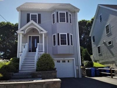 Waltham Single Family Home For Sale: 82 Amherst Avenue