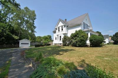 Mansfield Single Family Home For Sale: 128 Pratt Street