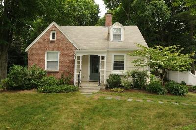 Needham Single Family Home Under Agreement: 308 Webster