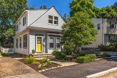 Medford Single Family Home Contingent: 39 Andrews St