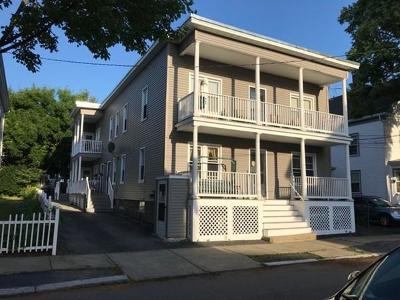 Salem MA Multi Family Home Sold: 10 Glover St
