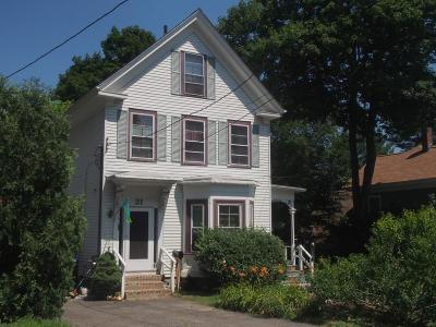 Multi Family Home Under Agreement: 21 Sawin Street