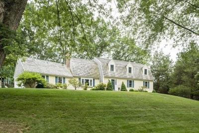 Hingham Single Family Home For Sale: 15 Saw Mill Pond Road