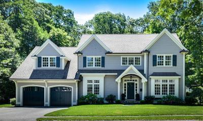 Wellesley Single Family Home Under Agreement: 39 Sheridan Rd