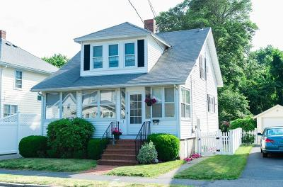Quincy Single Family Home For Sale: 3 Piermont St
