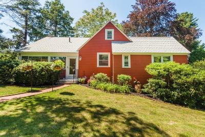 Waltham Single Family Home Contingent: 35 Riverside Dr