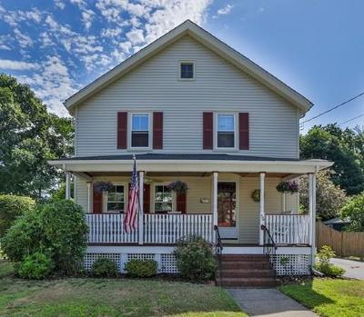 Wakefield Single Family Home Contingent: 56 Emerson St