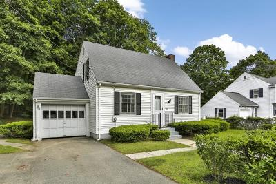 Wakefield Single Family Home Under Agreement: 35 Forest St