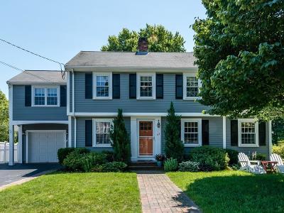 Needham Single Family Home Under Agreement: 43 Whittier Rd
