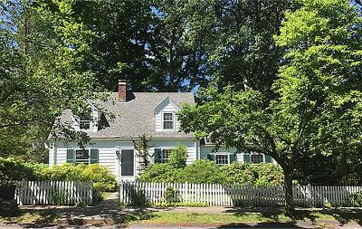 Newton Single Family Home Under Agreement: 21 Ridge Avenue