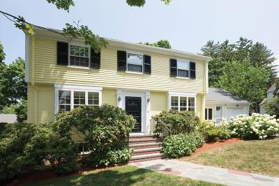 Newton Single Family Home Under Agreement: 38 Tennyson Rd