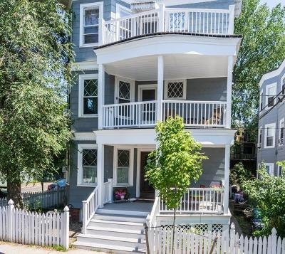 Cambridge Condo/Townhouse Under Agreement: 2 Newton Street #2